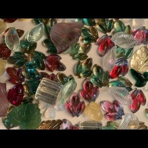 Other - 200 VINTAGE and rare pressed glass from W. Germany